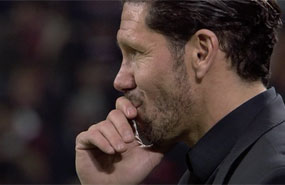 Diego Simeone's Atletico Madrid Put Joke On La Liga